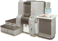 SDM Print and Business Services Business four colour digital offset press